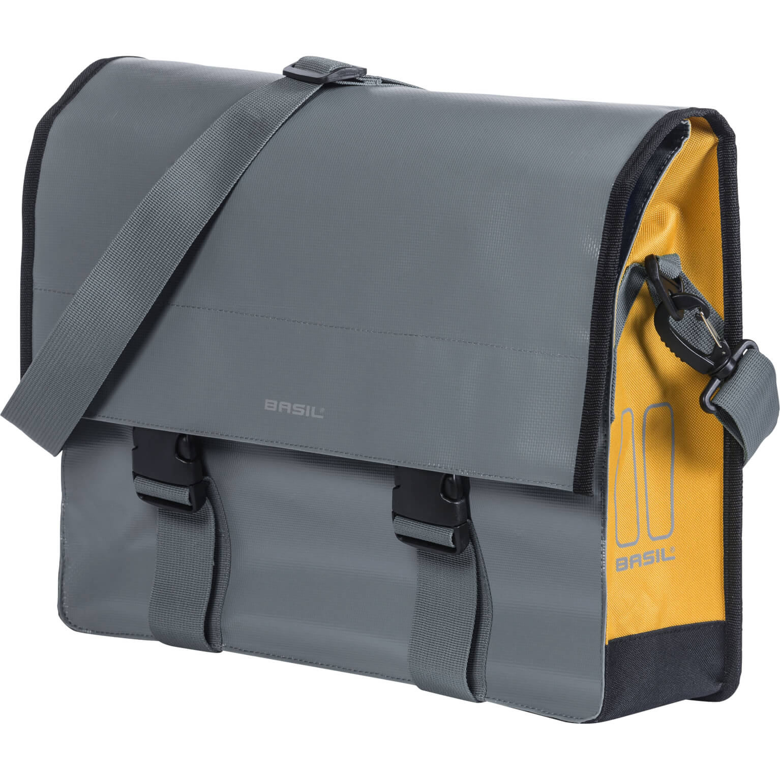 Basil tas messenger Urban load stormey grey