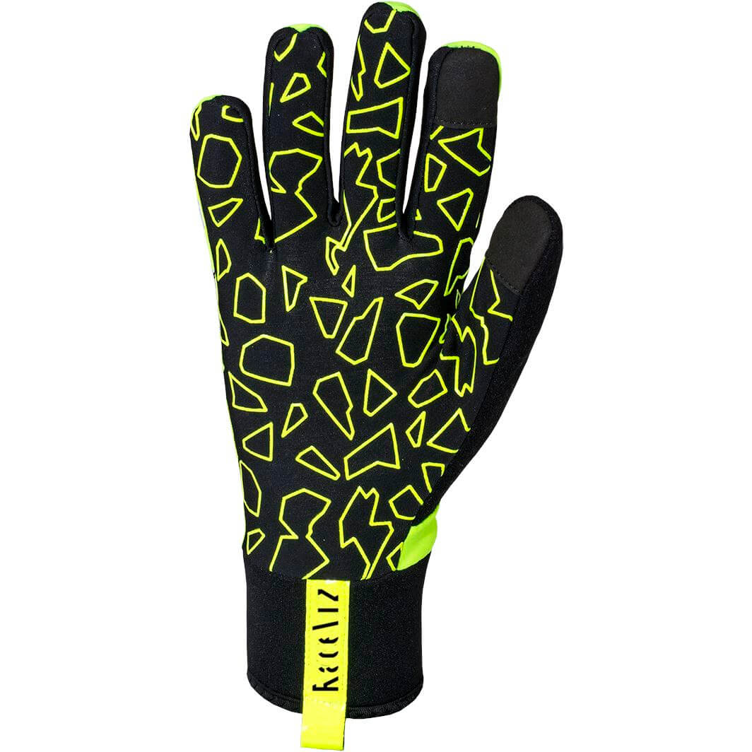 Raceviz handschoen Thunder XL yellow